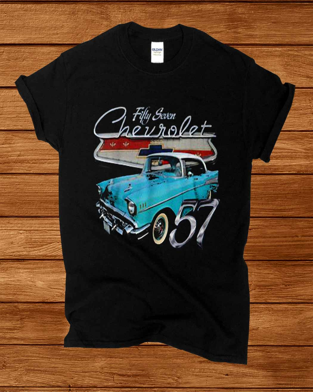 1957 Funny Chevys Fifty Seven Shirt