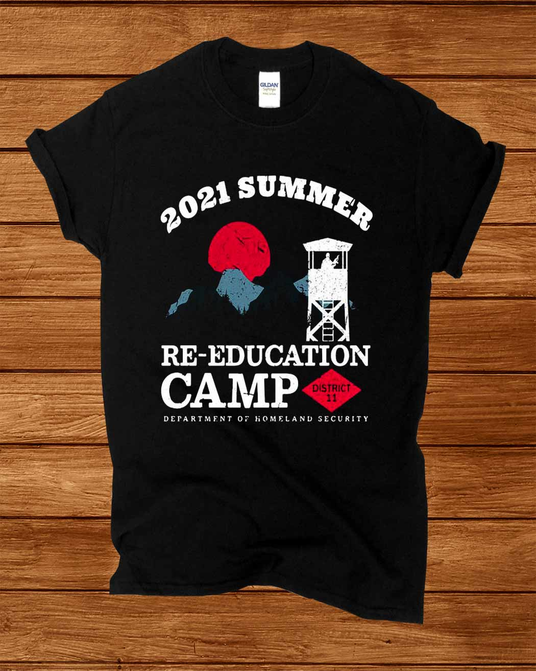 2021 Summer Re Education Camp Department Of Homeland Security Shirt