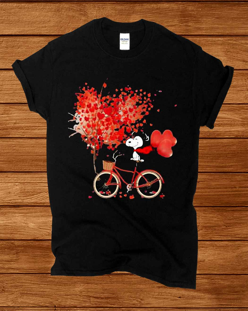 Snoopy Lover Bicycle Autumn Shirt