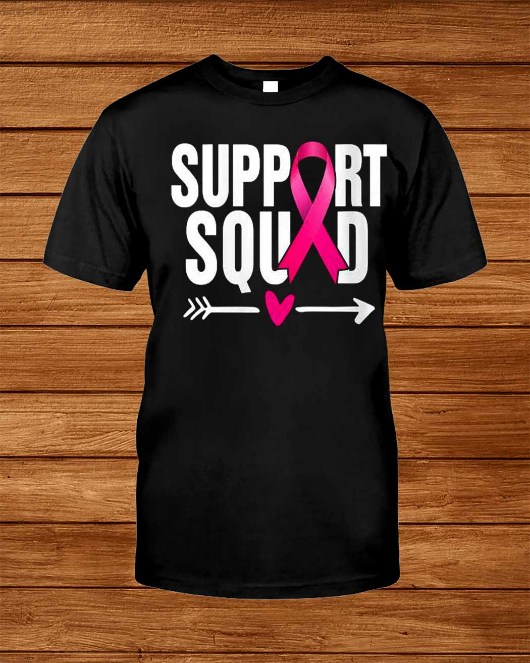 Support Squad Breast Cancer Awareness T Shirt